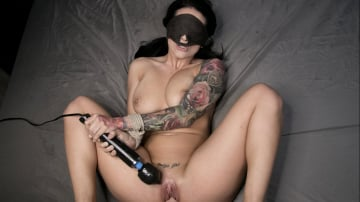 Katrina Jade - Blindfolded, Tied Up, And Fucked