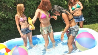Sacha in 'Pool Party and Good Times'