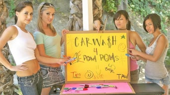 Jaelyn Fox in 'Carwash for Pom Poms'