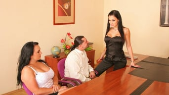 Aletta Ocean in 'Office Relaxation Technique'