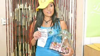 London Keyes in 'Candy Shop Cock'