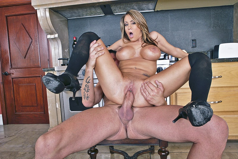 Nworship Hot Blonde Teen Trina Michaels Fucking Bbc With Big Tits And Pussy