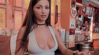 Alyssia Kent in 'Barmaid Gets Laid Again'